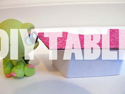 DIY Furniture: How To Make A LPS Hostess Table