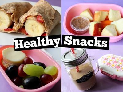 DIY HEALTHY SNACKS FOR SCHOOL ❤