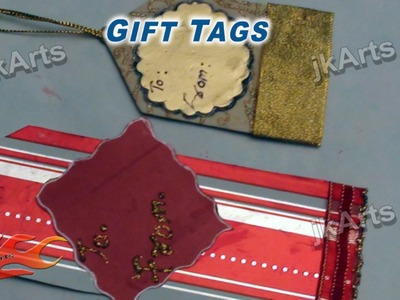 DIY How To Make Your Own Gift Tags -  JK Arts 280