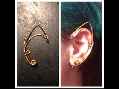 DIY Simple Wire Elf.Fairy Ears