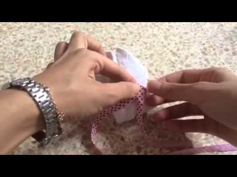 How to create a bunny with towel. un conejito con toalla