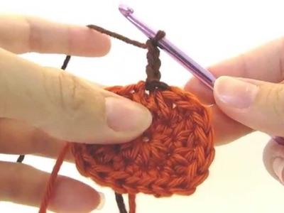 How to Crochet a Pumpkin Applique