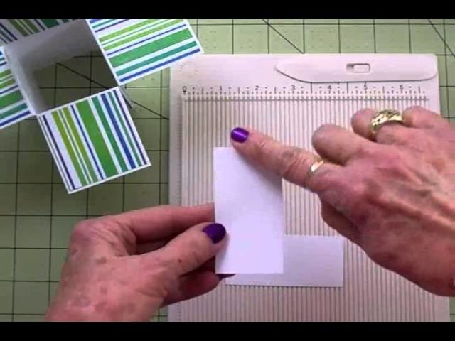 HOW TO MAKE A BOX CARD