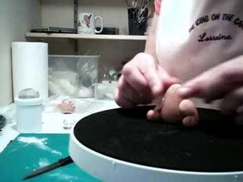 How to make a fondant dog - part 1