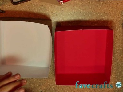 How to Make a Holiday Card Storage Box