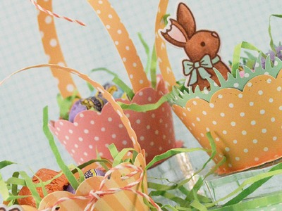 How to make a mini Easter basket