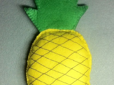 How To Make A Simple Pineapple Of Felt - DIY Crafts Tutorial - Guidecentral