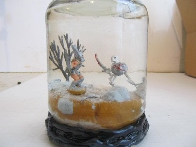 How to make a Snow Globe with a little pizazz