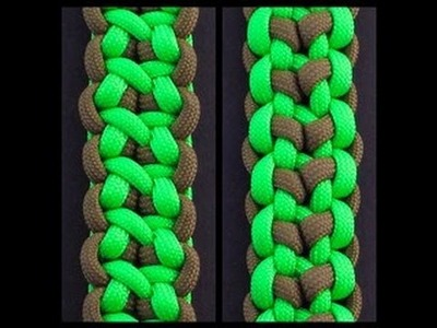 How to Make the Stone-Wood Henge Bar (Paracord) Bracelet by TIAT