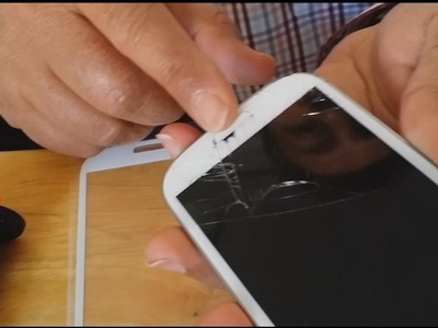 How to Repair Broken Front Glass Galaxy S3 yourself (DIY) in Easy Steps