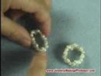 Jewelry Making Tutorial Video - Wavy Pearl Ring