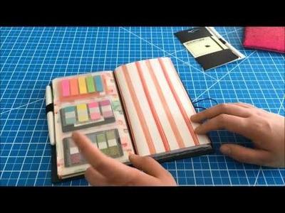 One Book July 2015 Traveler's Notebook Setup | #onebookjuly2015