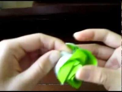 Origami New Kawasaki Rose Tutorial (Part 3)