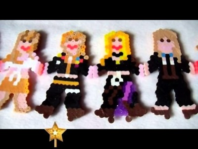 Perler Beads - Britney Spears Music Video Doll's