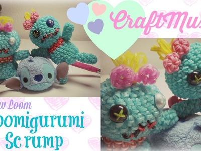 Rainbow Loom Loomigurumi Scrump from Lilo and Stitch
