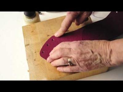 Simpleshoemaking: How to make a nofomoc shoe