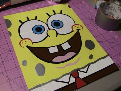 Spongebob Squarepants Time Lapse!