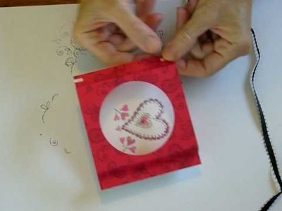 Valentines Pop Out Card