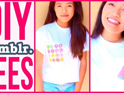 3 Easy DIY Tumblr Tshirts with Danica