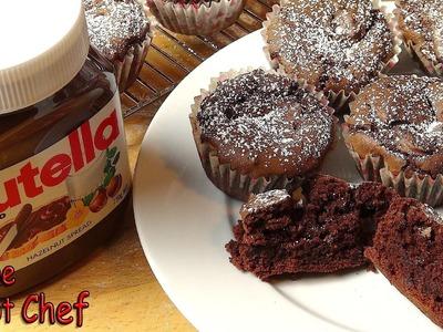 3 Ingredient Nutella Brownie Cupcakes - RECIPE