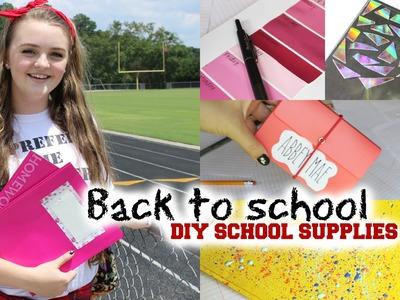 Back to school: DIY school supplies(Cute & Easy) ♡
