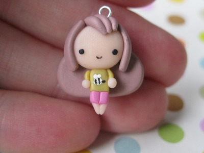 Bee Chibi [From Bee and Puppycat] Tutorial - Polymer Clay