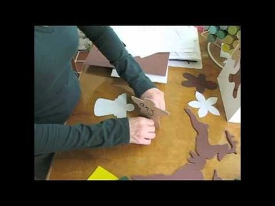 Designing Christmas Decorations with Stencils