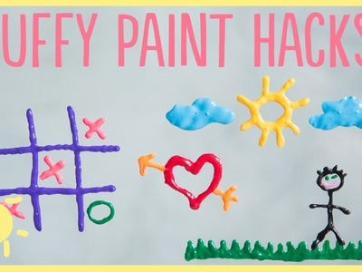 DIY | 3 Puffy Paint Hacks