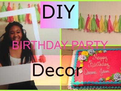 Diy Birthday Decor