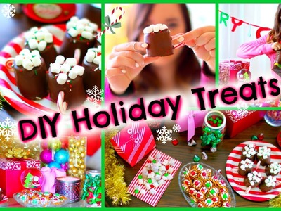 DIY Holiday Treats ♡ Pinterest Inspired Christmas Party Desserts