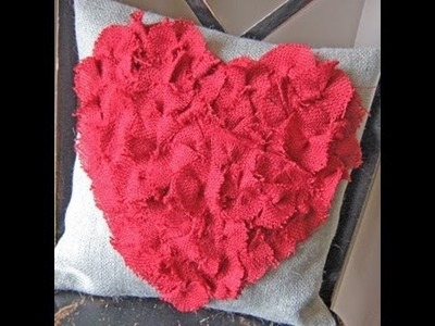 DIY pillows! Cute and easy! Valentines day inspired!