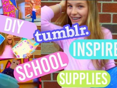 DIY school supplies!