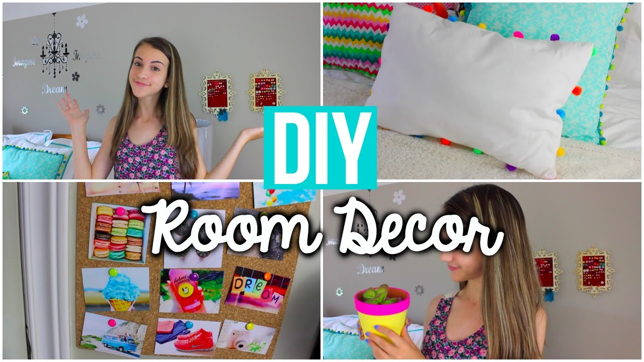DIY Summer Room Decor: Tumblr Inspired!