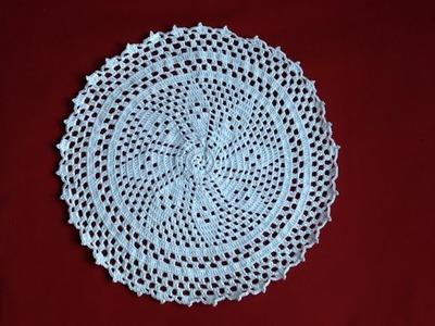 Free Crochet Flower Doily part 6