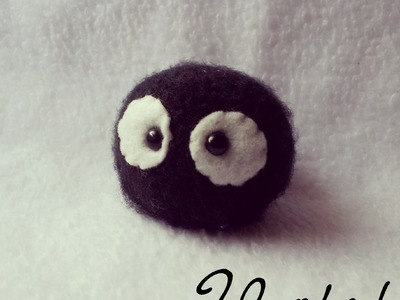 Free Pattern:How to make a Soot Sprite Amigurumi