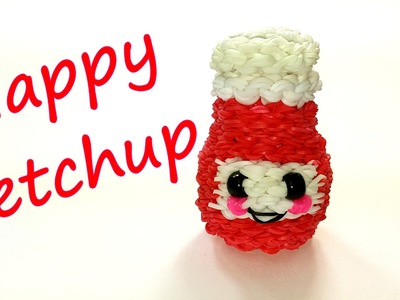 Happy Ketchup Tutorial by feelinspiffy (Rainbow Loom)