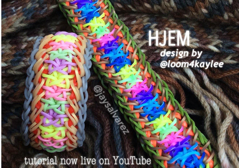 HJEM loom tutorial by @jaysalvarez for ILOVEHUESHOP