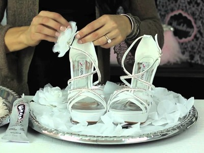 How to Design Your Own Bridal Shoe : Glam Up Your Shoes