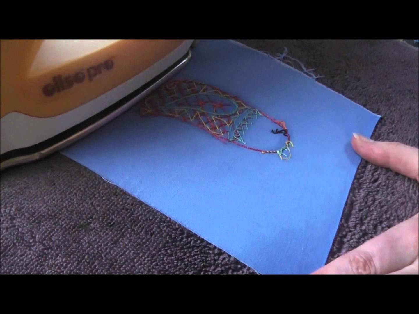 How to Iron Embroidery