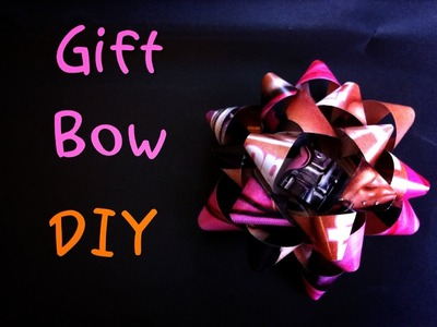 How To Make A Gift Bow - Day 8: 12 DIYs of Christmas - keepingupwithashlyn