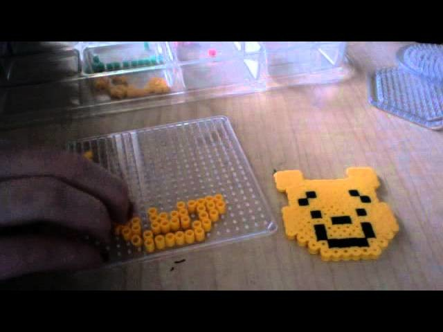 How to make a perler bead winnie the pooh