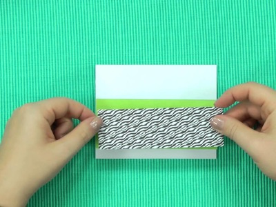 How to Make Cards -- Doodling & Paper Piecing