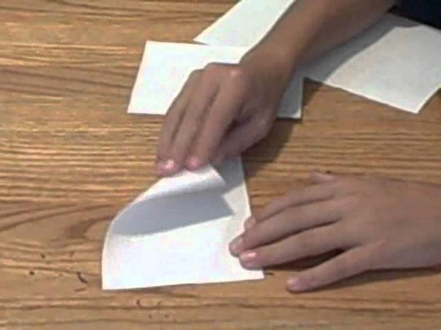 How to make MINI paper darts