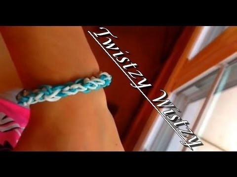 How to make the rainbow loom twistzy wistzy bracelet