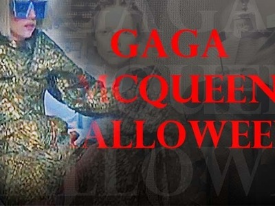 Lady Gaga - Bad Romance -  Alexander McQueen Halloween Costume | Time Lapse Tutorial