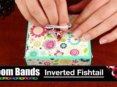 Loom Band Bracelet - Inverted Fishtail Pattern