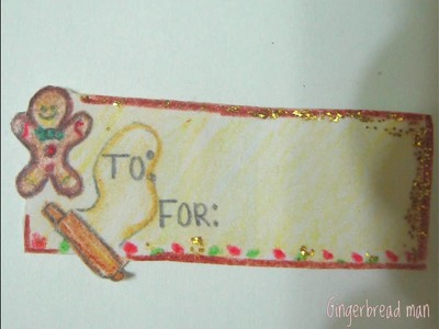 Make your own gift tags :)
