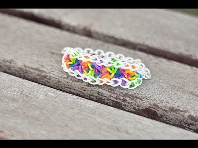 New Rainbow Loom Tutorial: Rainbow Staircase (easy to intermediate)