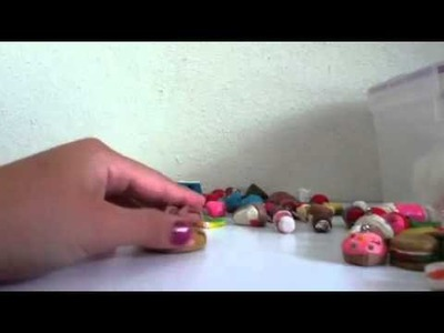 Polymer clay and air dry clay creations