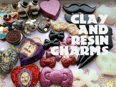 Polymer Clay and Resin Charm Update #4